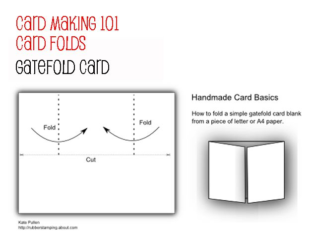 Card Folds For Beginner Making