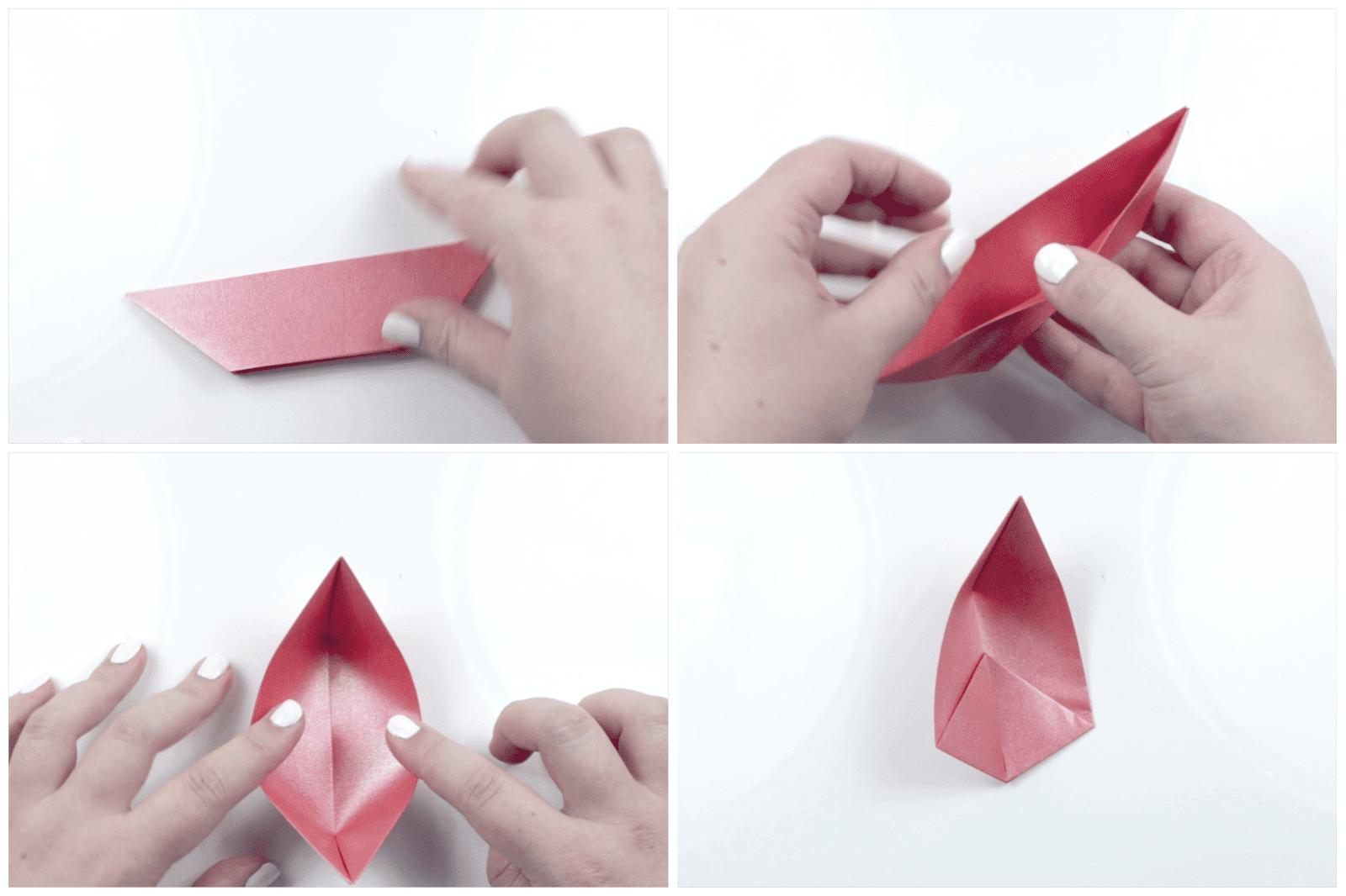 modular origami lotus 3
