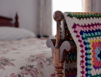 Single Crochet Blanket Edging