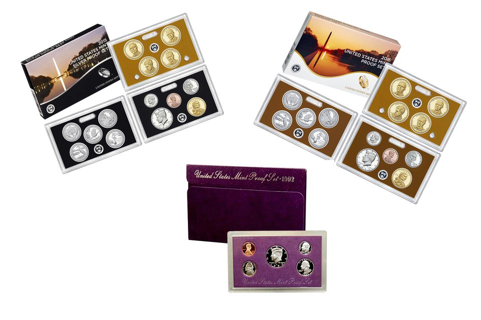 Various Proof Sets Produced by the United States Mint