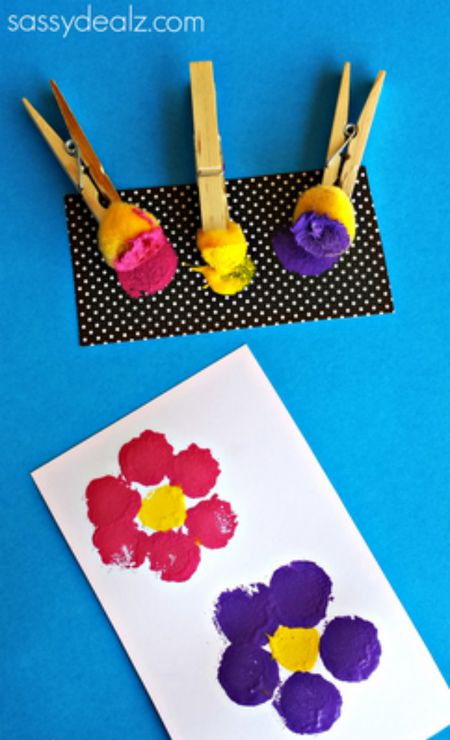 Spring flower crafts for kids crafty morning mightylinksfo