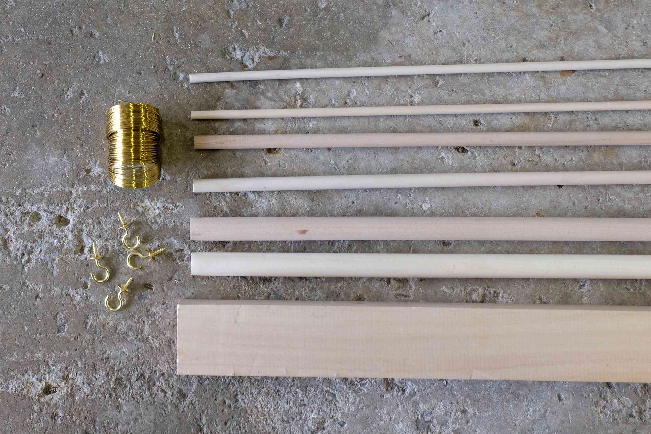 wooden christmas tree supplies