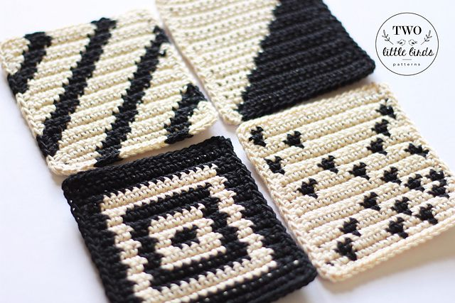 Tapestry Crochet Coaster Patterns