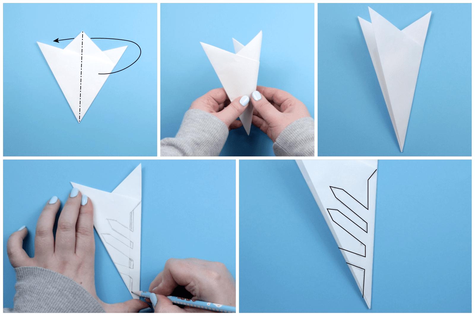 Kirigami Snowflake Instructions 03