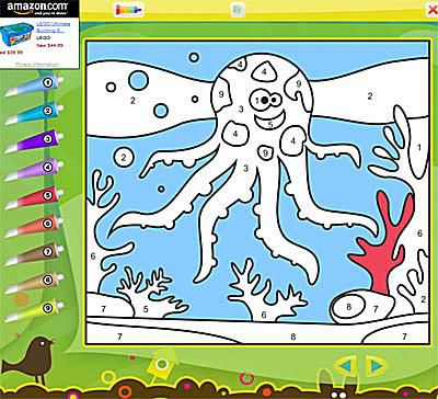 Great Places To Color By Number Online For Free