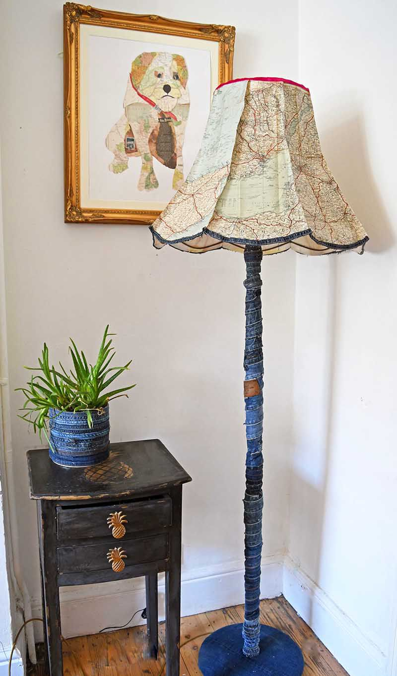 20 Diy Lamp Ideas To Light Up Your Decor Electrical Supply Cage Trouble Industrial Wire Shade