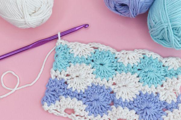 How to Crochet Catherine's Wheel Stitch