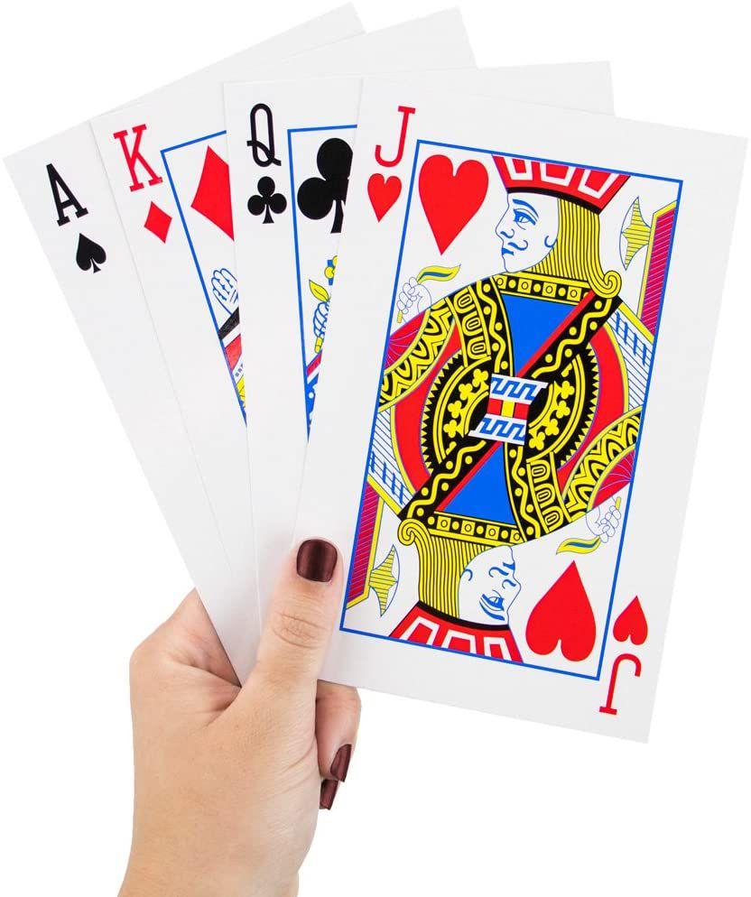 Mega Playing Cards Jumbo Deck
