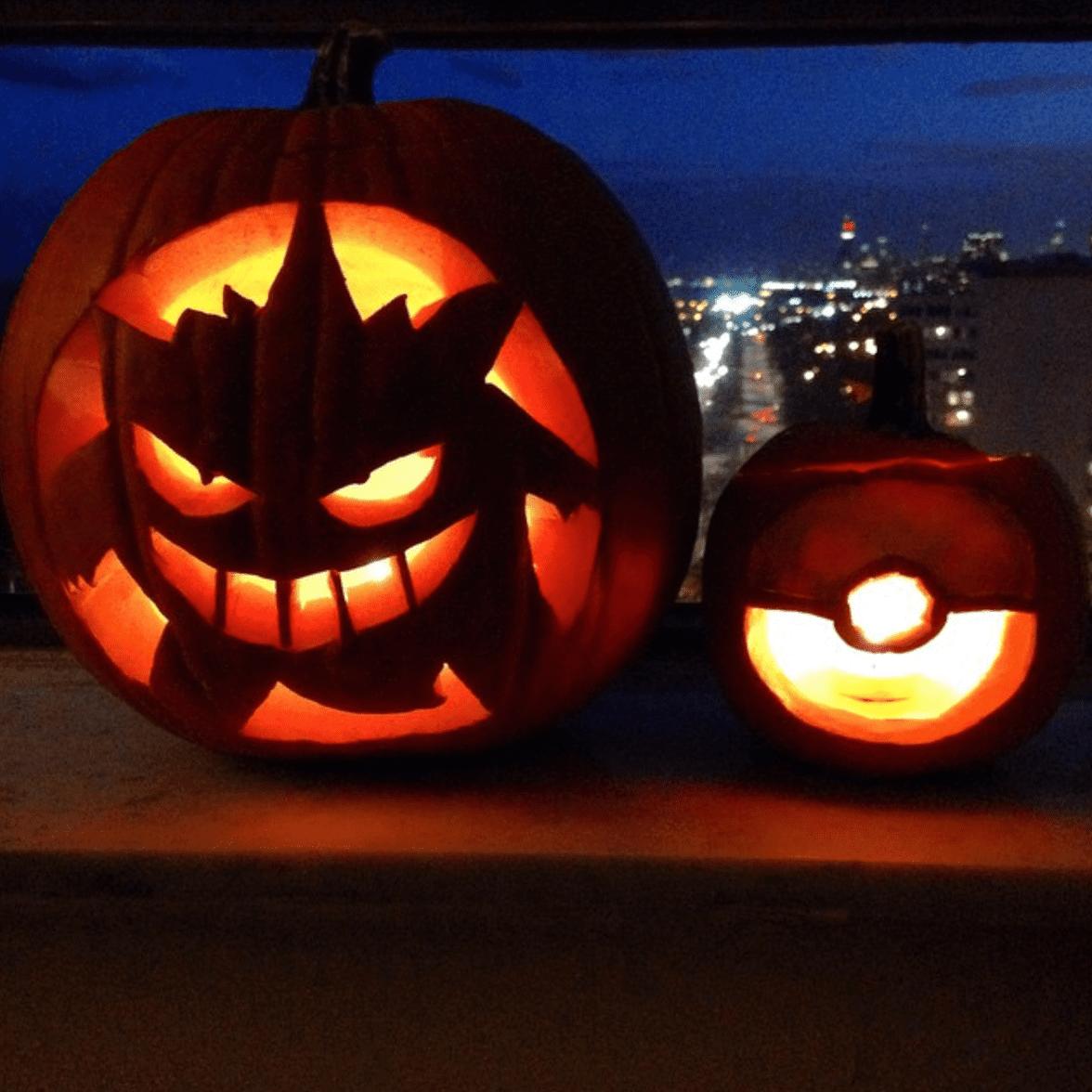 Pokemon Pumpkins