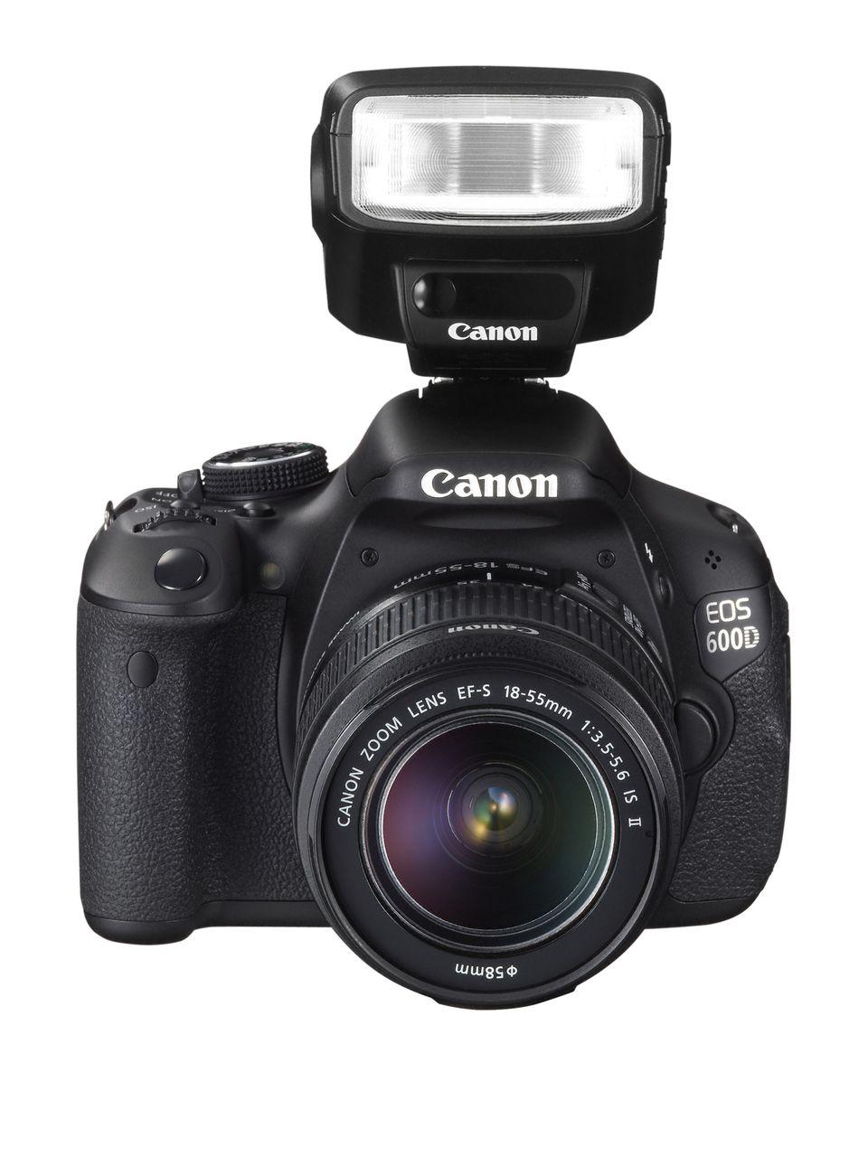 A Canon EOS 600D camera