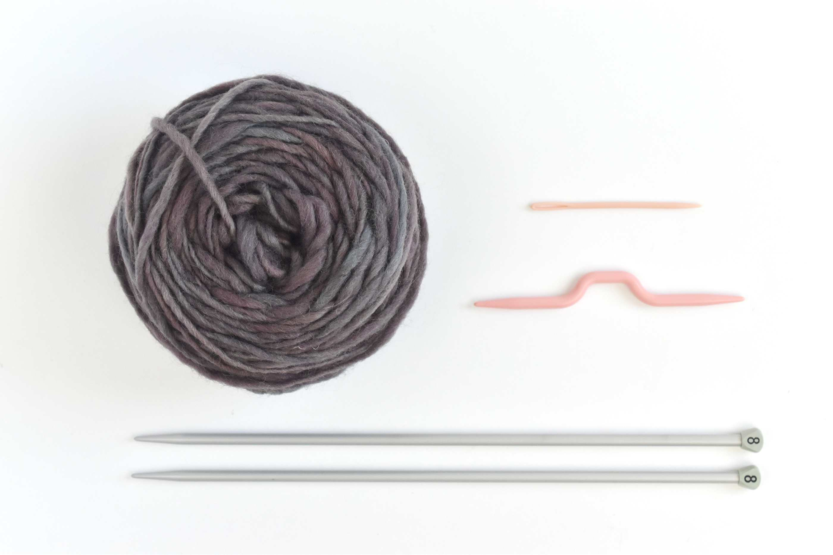 Cable Knit Headband Supplies