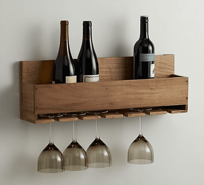 diy wine rack with plans