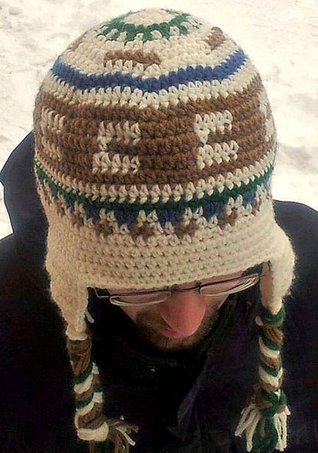 Men's Crochet Earflap Hat Pattern