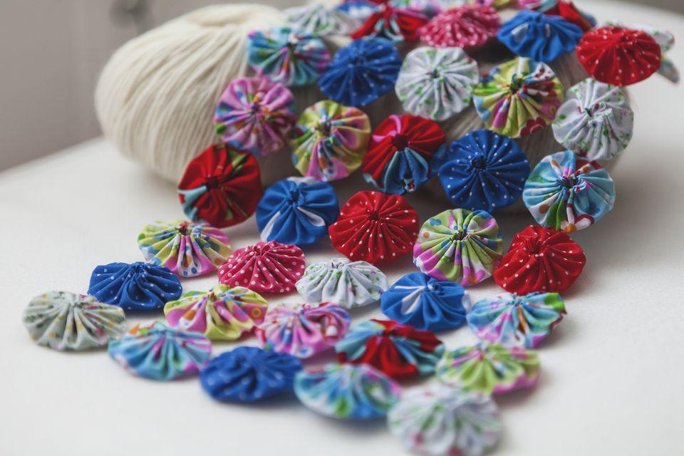 Fabric yo-yo