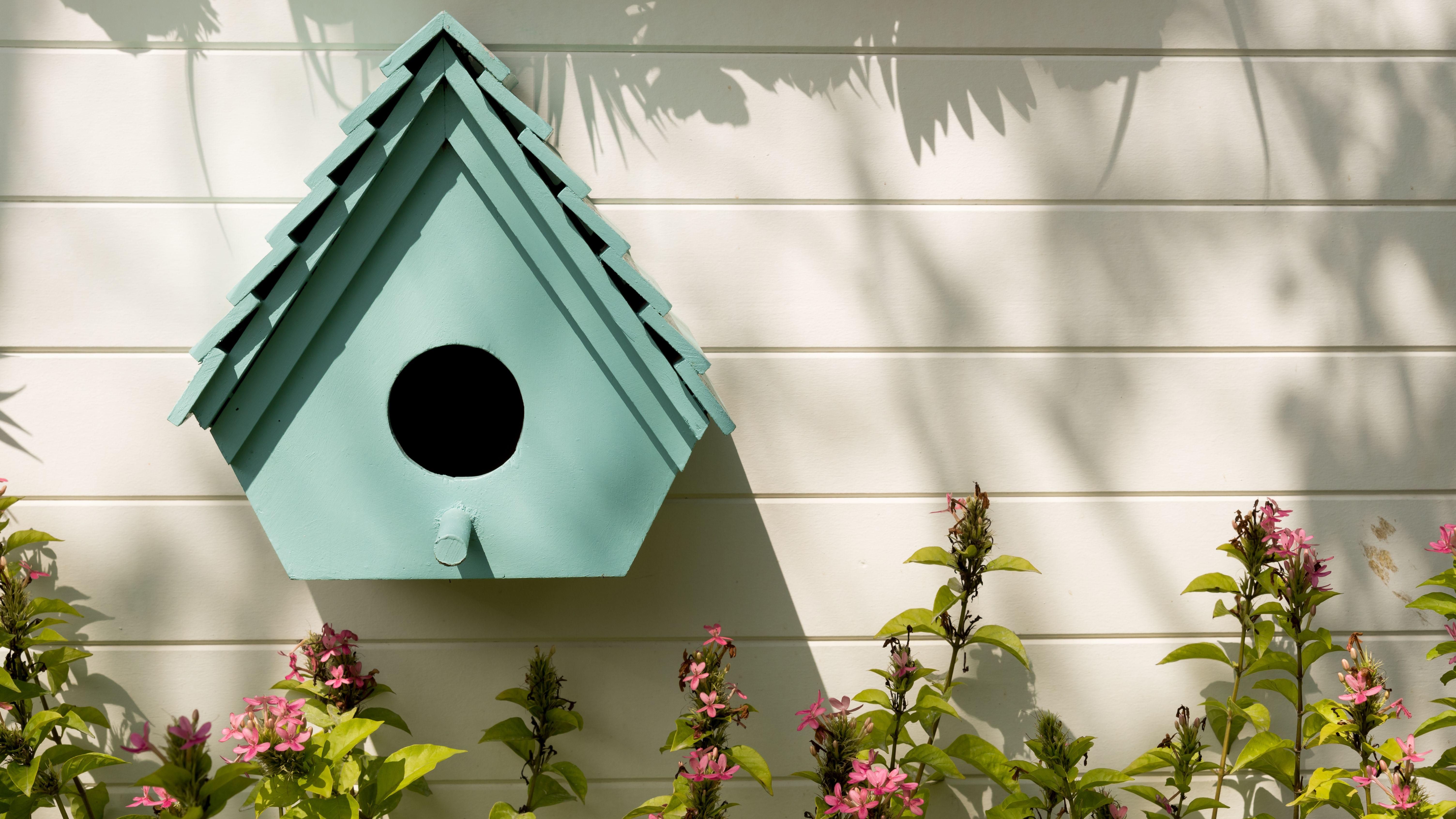 Large Victorian Birdhouse Handcrafted wooden birdhouse Rustic garden decor