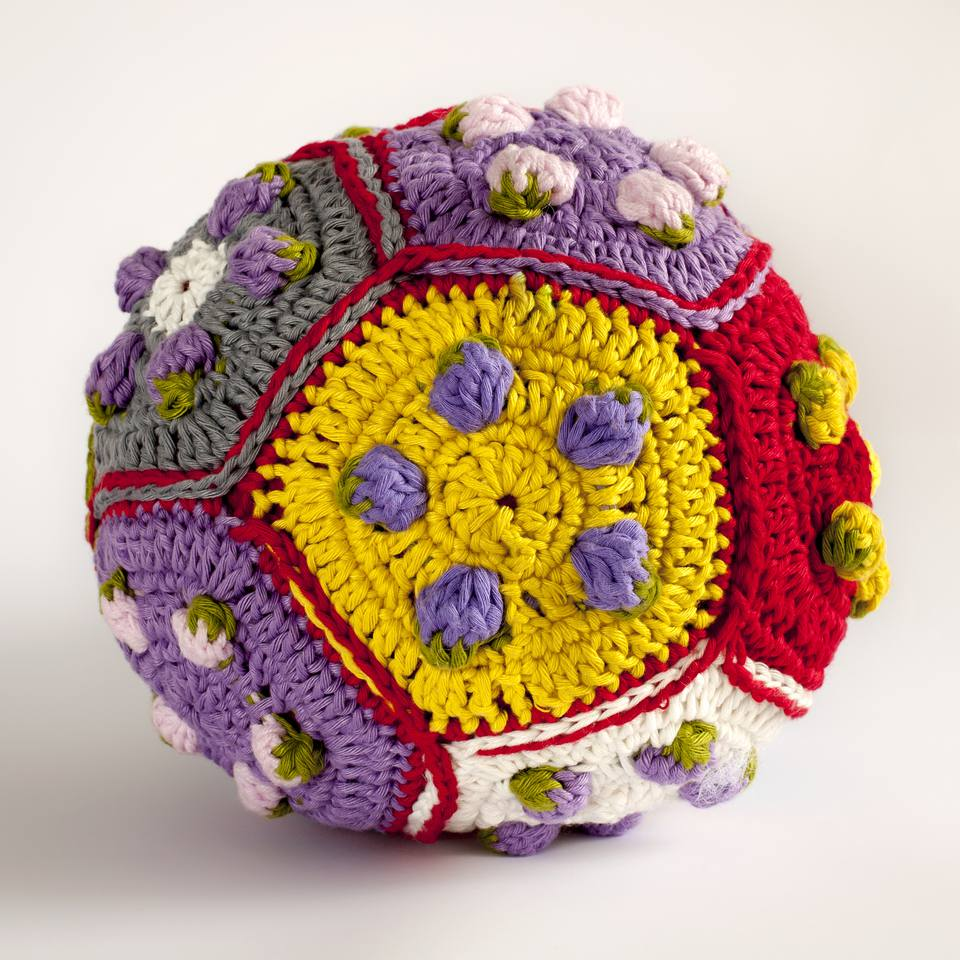 Crochet Pentagon Ball