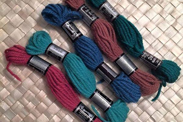 5 skeins of tapestry yarn
