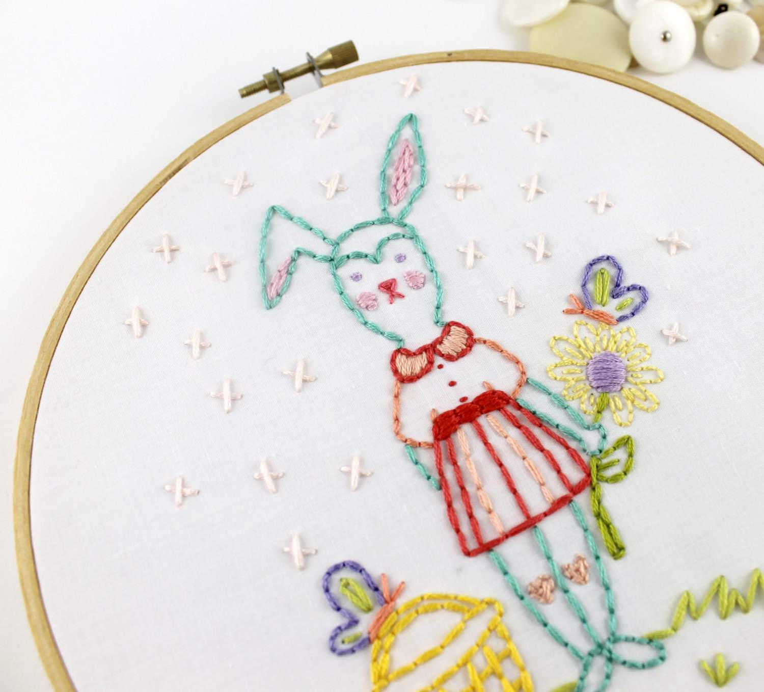 11 Embroidery Projects To Stitch For Easter