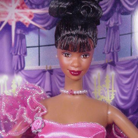 Pink Inspiration Barbie Doll. Close Up