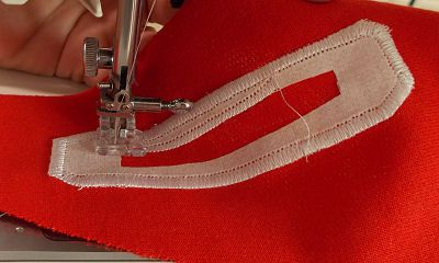 Never sewn a satin stitch before? Practice first!