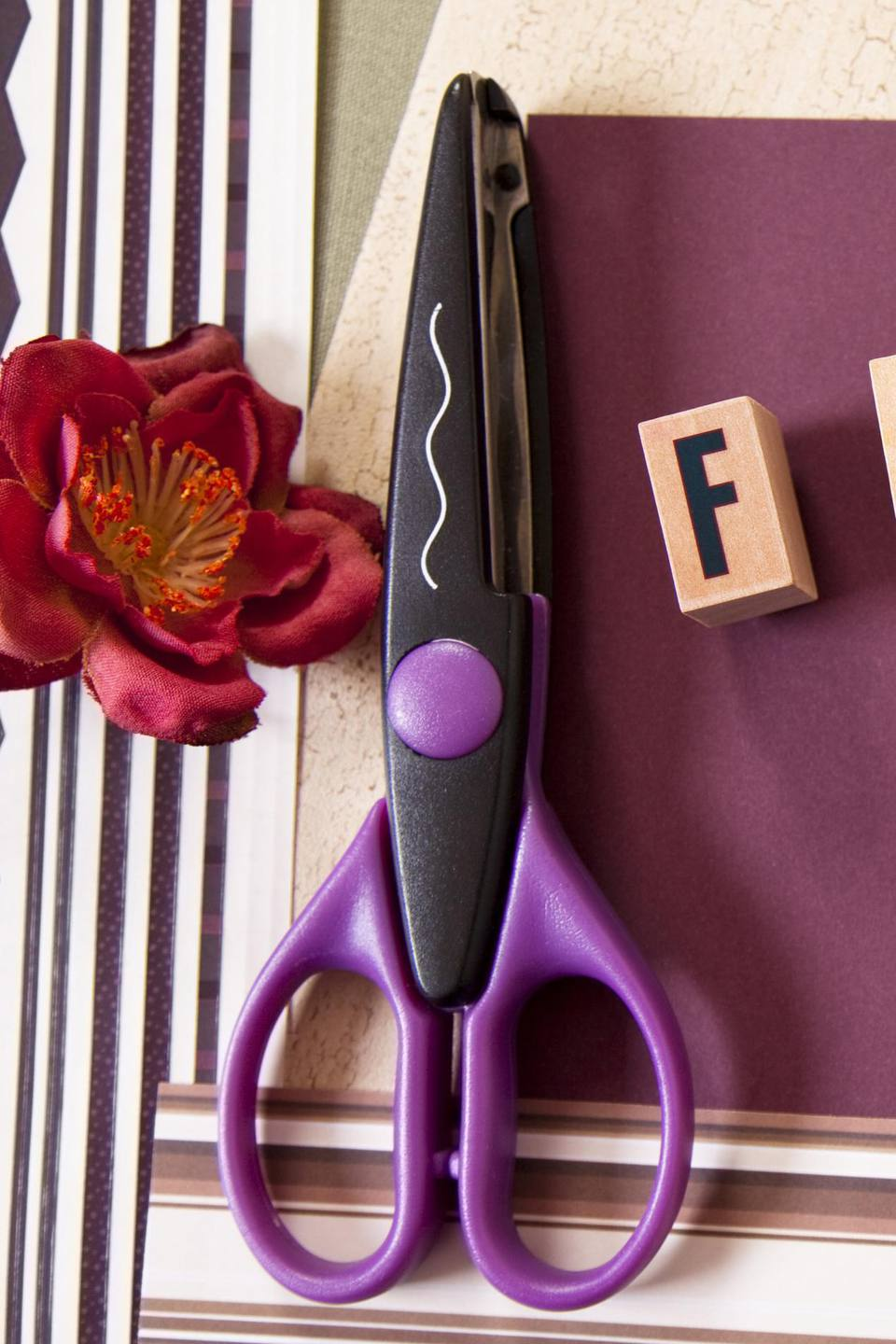 Pattern Edge Scissors