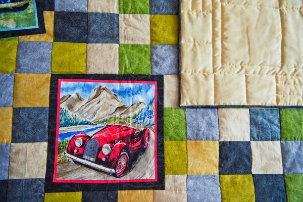 Blanket with pictures