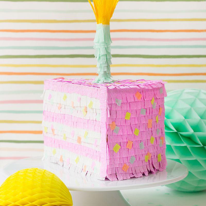DIY Birthday Cake Pinata