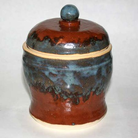 An Inset Style Lidded Jar By Beth E Peterson