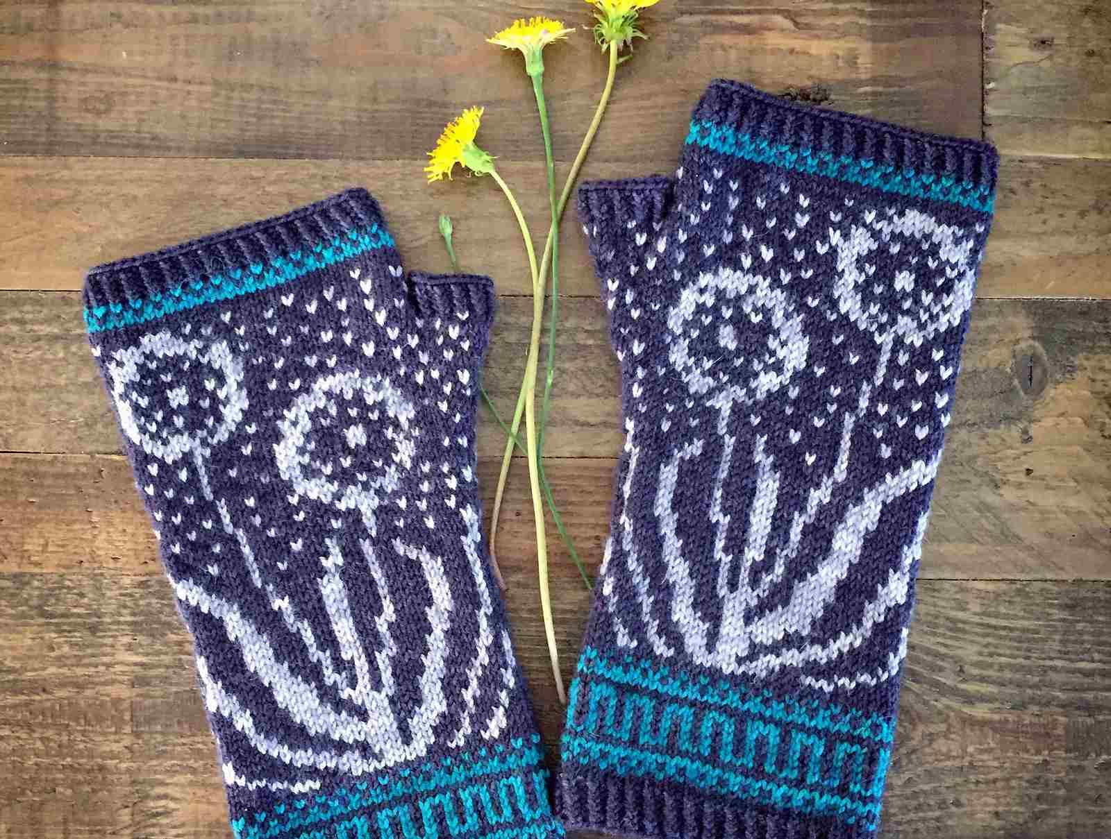 Wishmaker Mitts Knitting Pattern
