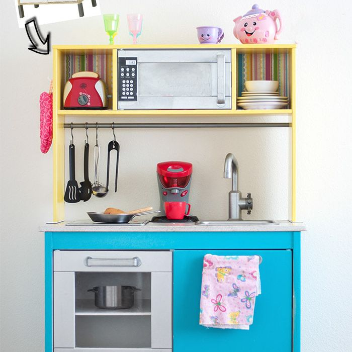 Painted Play Kitchen