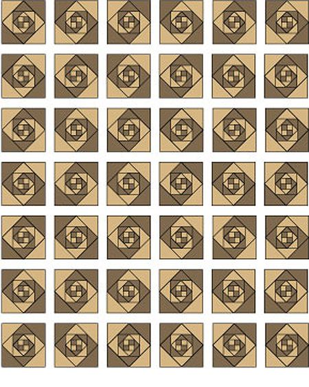 Try An Easy Snails Trail Quilt Block Pattern