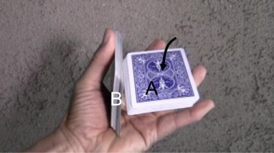 One-Handed Cut for Card Magic Tricks