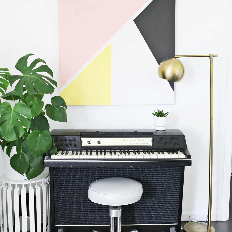 DIY Modern Abstract Art