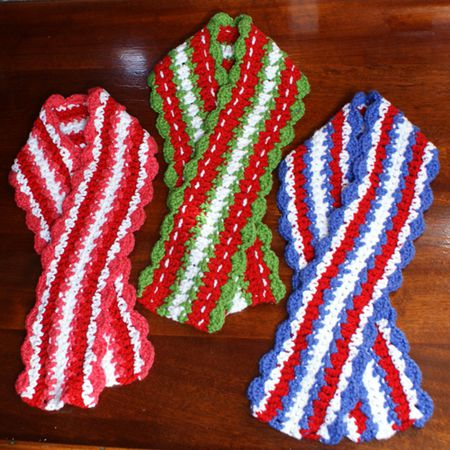 Holiday Scarf Patterns To Crochet
