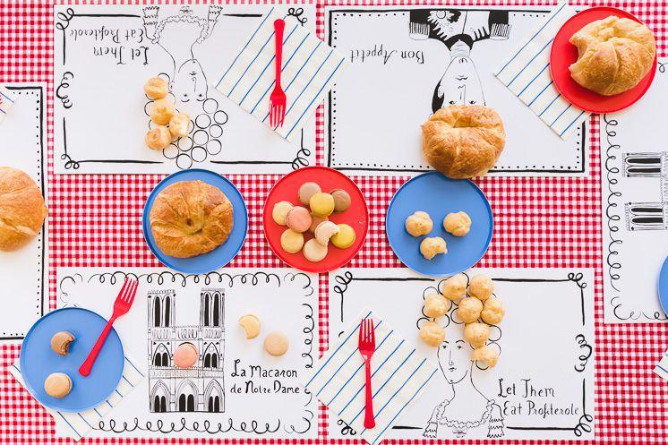 printable placemat ideas