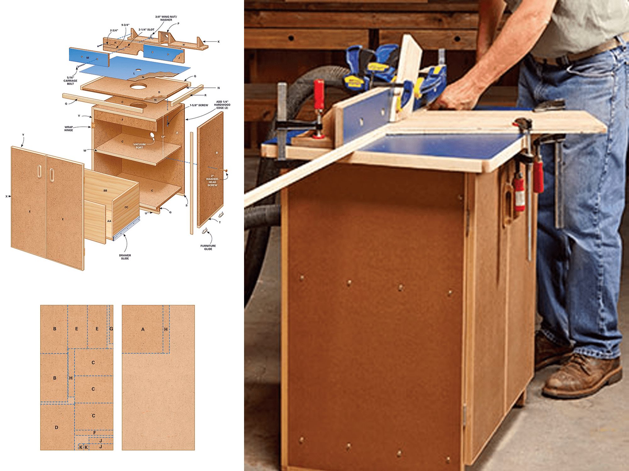 11 free diy router table plans you can use right now