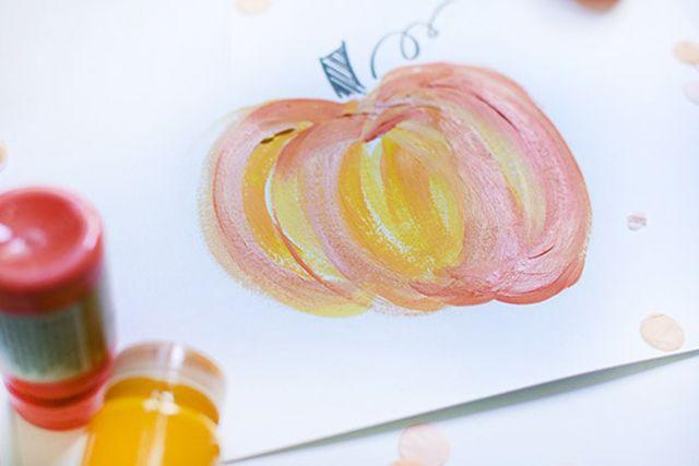 pumpkin painting tutorial