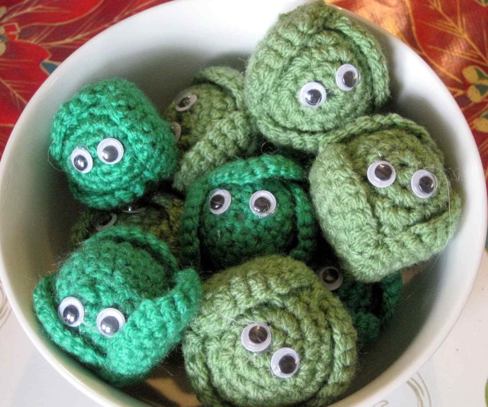 25 Fruit And Vegetable Crochet Patterns