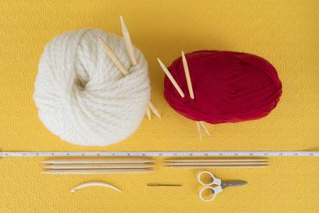 2147bc850ca yarn balls and knitting tools