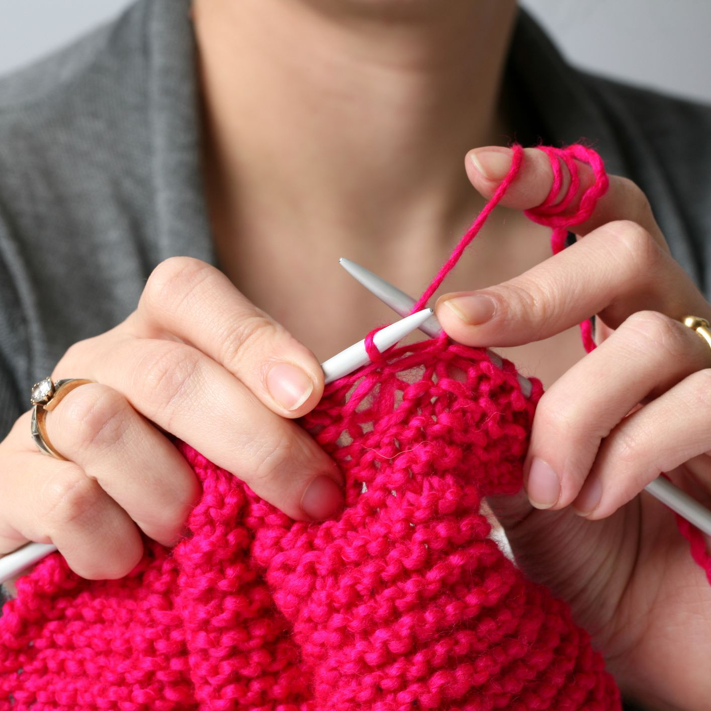 Left Handed Knitting Tips And Techniques