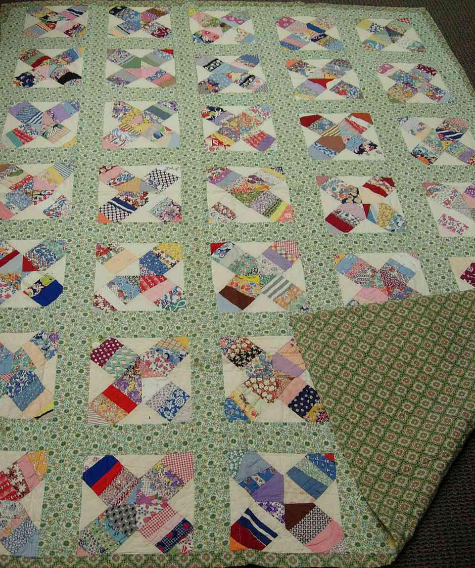Reversible Antique Quilt