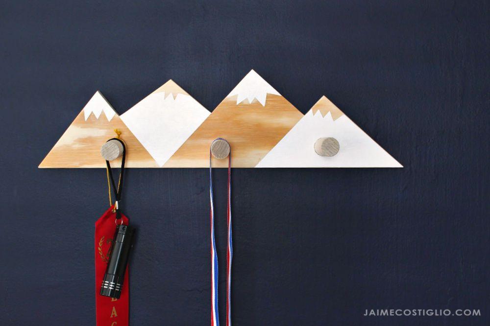 Mountain Wall Hooks