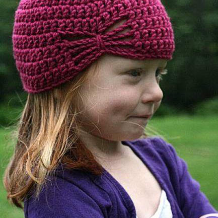 Olivia's Butterfly Crochet Hat Free Pattern
