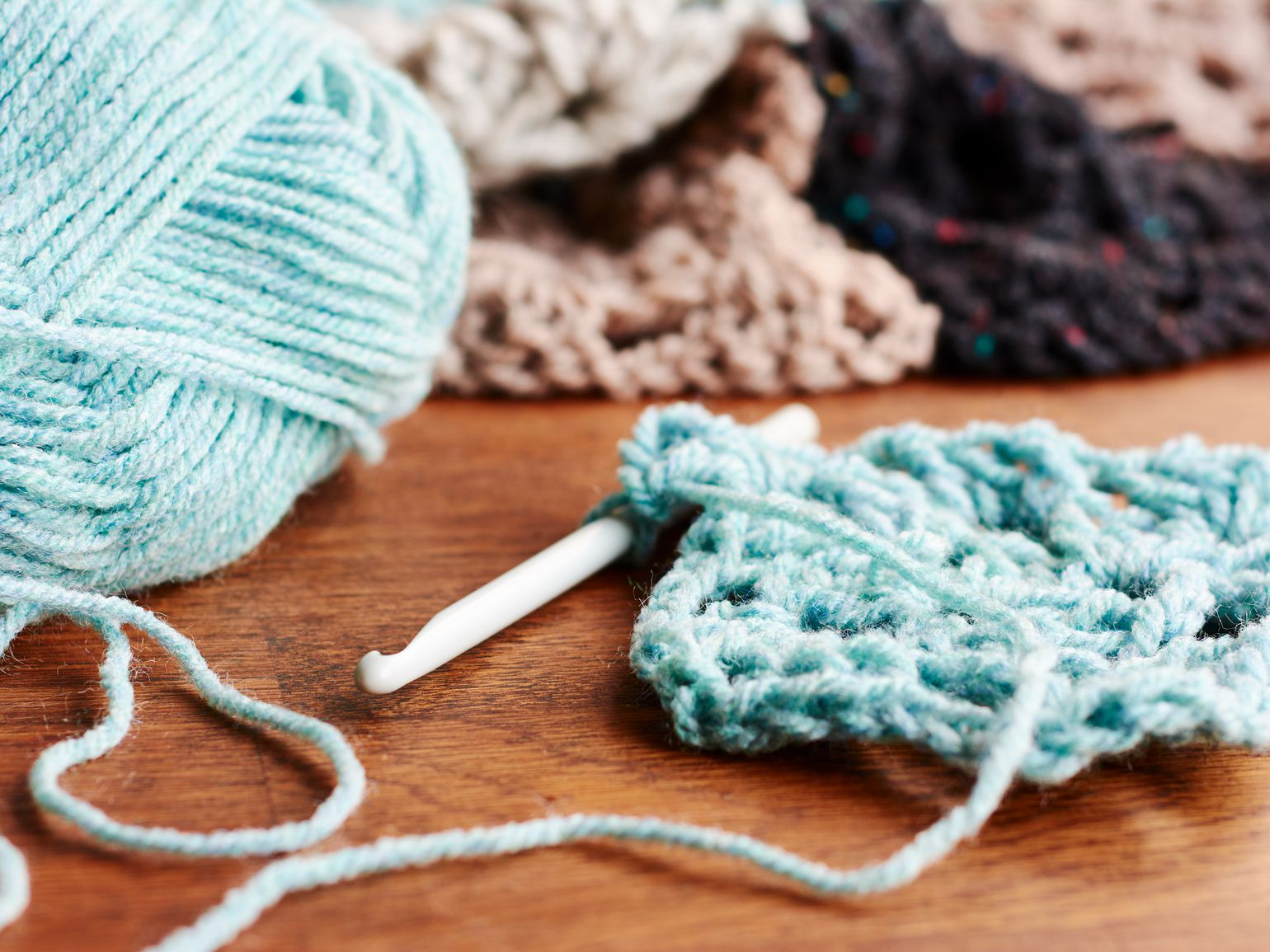 Crocheting Yarn