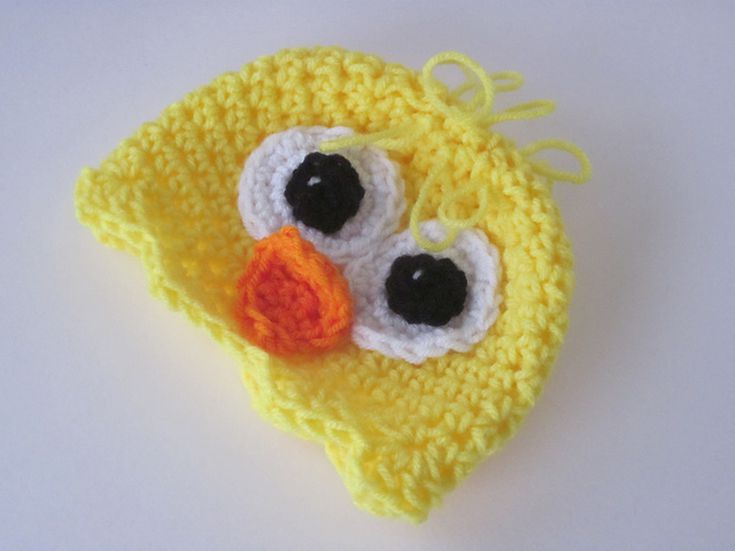 6d2ef6b9e 10 Adorable Baby Chick Crochet Hat Patterns for Easter