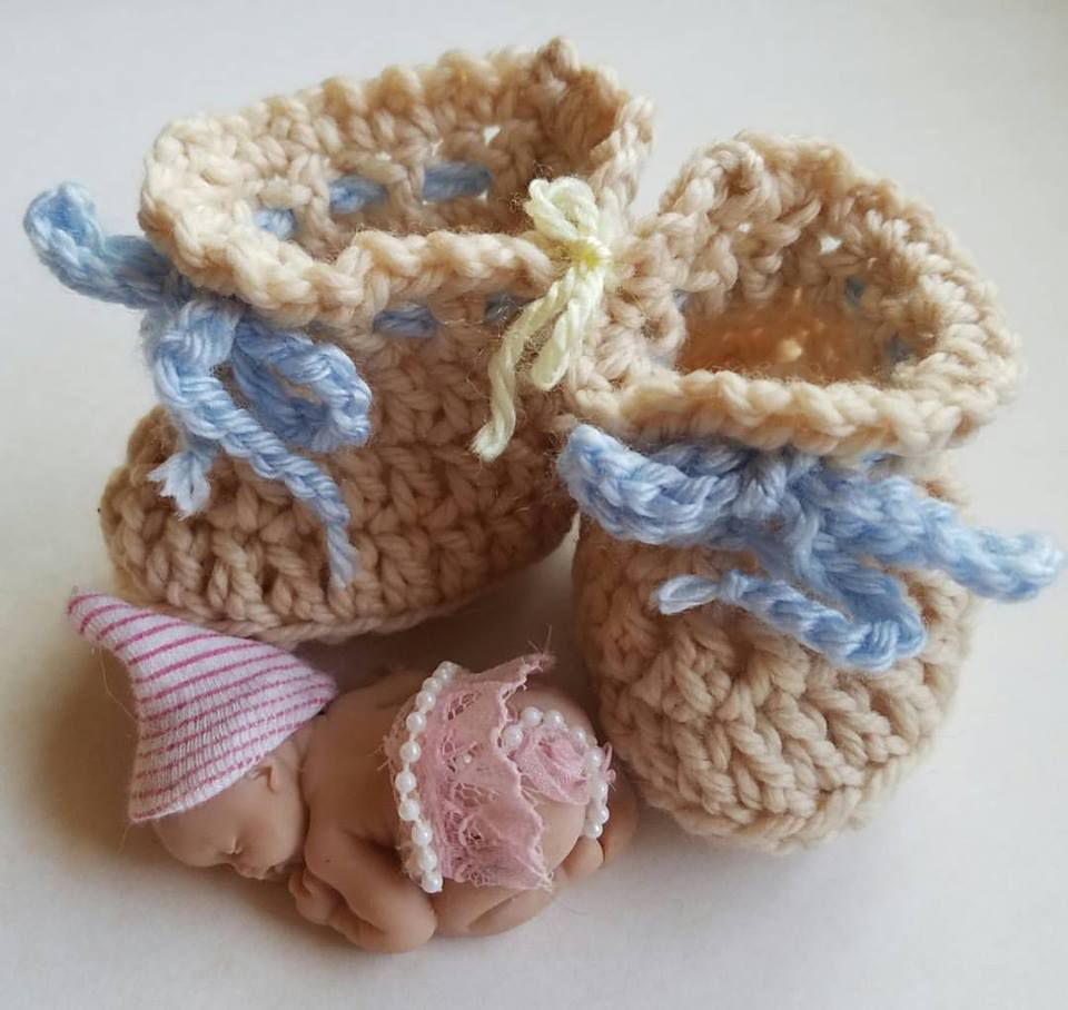 Crochet Baby Shoes Pattern Free Best Design