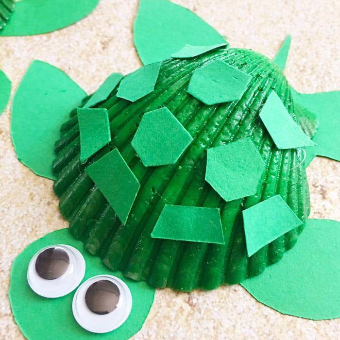 10 Seashell Crafts For Kids