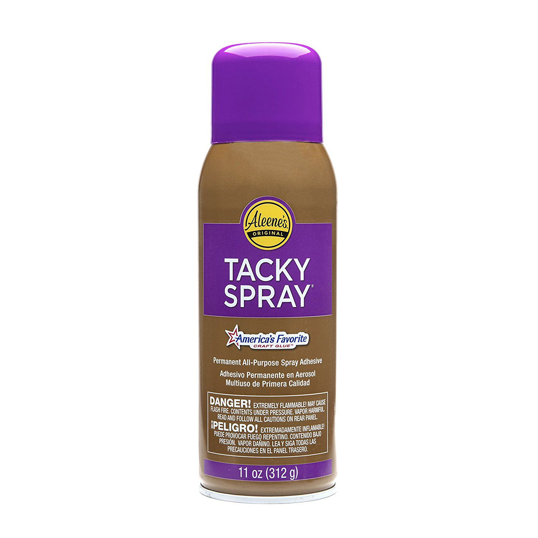 Aleene's tacky adhesive spray