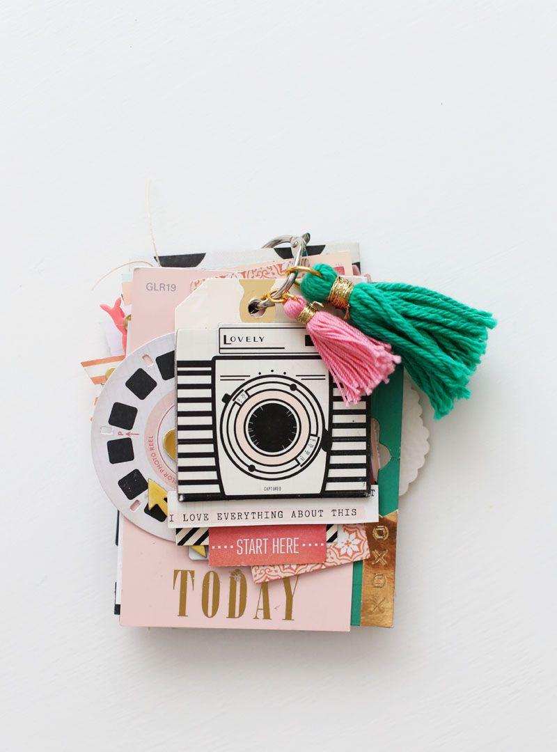 paint chip album