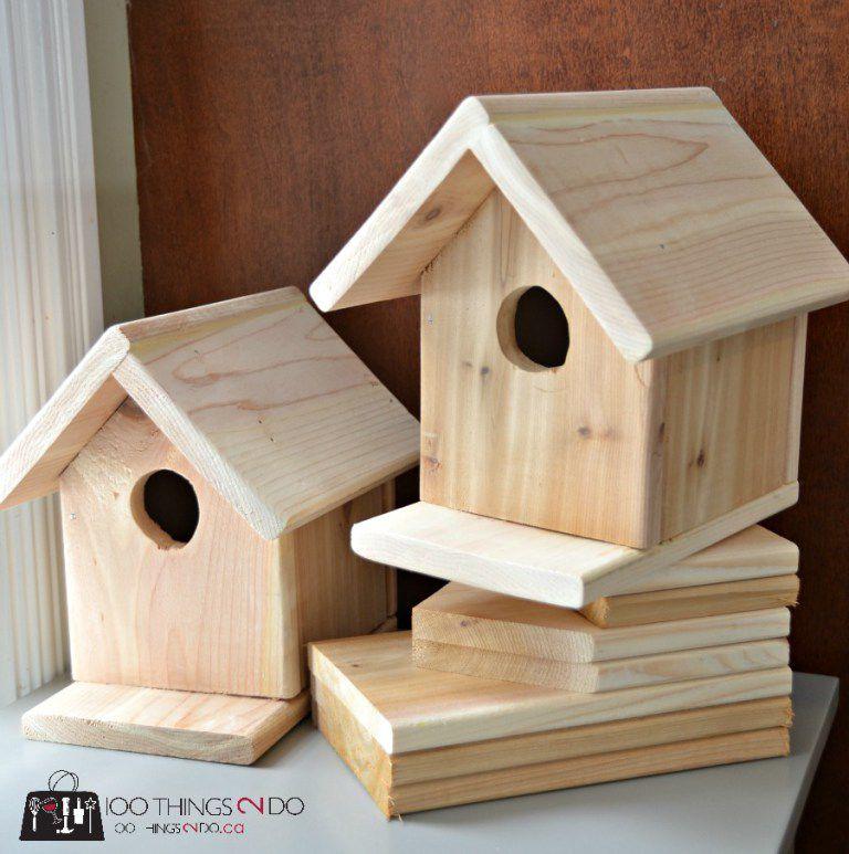 15 diy birdhouse plans and ideas go back to basics with this birdhouse design solutioingenieria Gallery